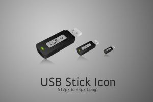 USB Stick Icon by osrek