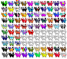 100 adopts name your points DONT ADD IN FAVORITES by Mutt-tea