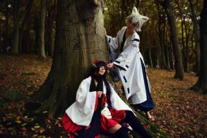 InuxBoku ss - In the forest by DreamWhispering