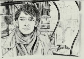 Ben Whishaw as Robert Frobisher by manzanaperdida