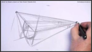 Learn How to Draw a Boat in Two Point Perspective by drawingcourse