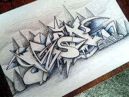 Felix Graffiti Sketch Battle by SmecKiN