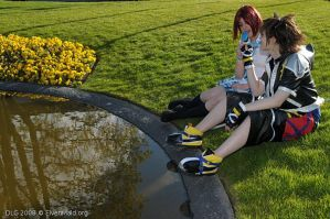 Sora and Kairi cosplay 03 by Magisa