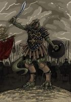 Saurian Cohort by pictishscout