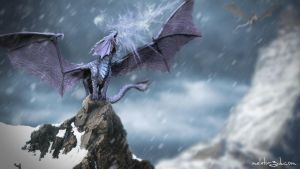 Ice Dragon by Meletis