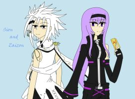 Elsword RP - Sion HS and Zaizon SP by NeneRuki