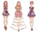 Fashion sketch collection by Nina-D-Lux