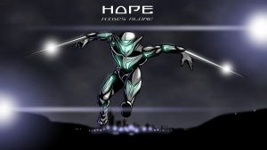 Hope Rides Alone by PearceComics