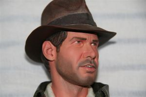 Sideshow Indy statue repaint 5 by DarrenCarnall