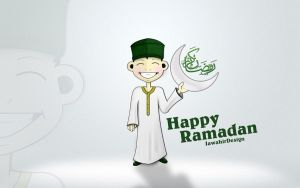 Happy Ramadan by muhammadibnabdullah