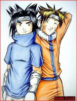 Cosplay naruto DF by shadics