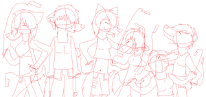 Rave Party :WIP: by BoneXScourge11