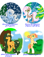 My Adopted Ponies Earth Types 5 by Sarahostervig