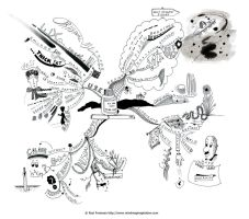 Creating an ink only Mind Map by Creativeinspiration