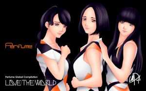 Perfume Global Compilation LOVE THE WORLD 16:10 by XCurarpiktX