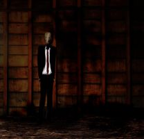 slenderman by thelilartist