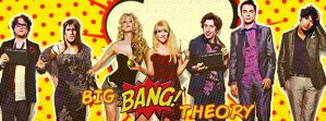 Big Bang Theory Facebook Cover Photo by ScarlettPhotography