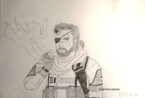 Venom -Big Boss- Snake by Tablehopper