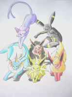 OMG, The Eevee Gang by Jiayi