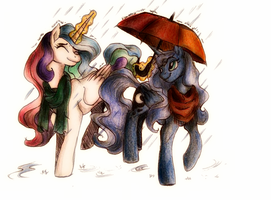Rain (colored) by ButterSprinkle