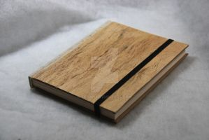Real bark sketchbook by liesan