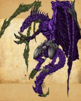 DeathBane Colored by dragonrage-