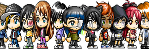 Fusion Fall Crew by IceWizardCheryl