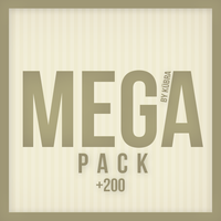 MEGAPACK by kübra by HappyAngelPS