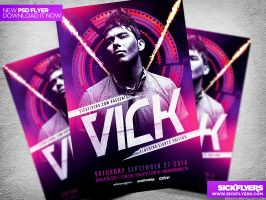 Special Guest Event Flyer Template PSD by Industrykidz
