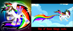 Rainbow Comparison New vs Old by EDK180