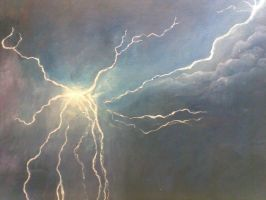 Perth Lightning Storm by my-glorious-muse