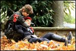 MGS3: In the Fall... by MorbusParkinson
