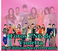 Fotos PNG de Violetta by EditionsSweetDreams
