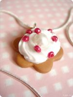 Necklace - cookie and cream by itrill