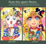 Draw this again Sailor Mooon Challenge by MiriArt