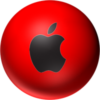 red apple orb by desithen