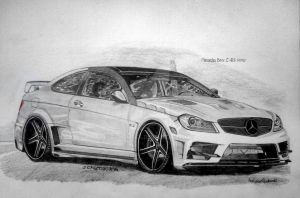 MB C-63 AMG by schemeck