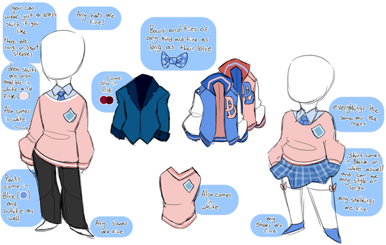 DokiDoki HighSchool :: UNIFORMS by LabonBull