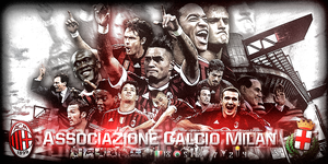 AC Milan signature by PhenomenonGFX