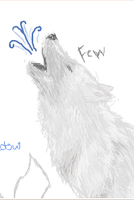 Wolf Sketch-Iscribble by Fewfewers