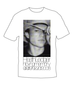 Heath Ledger Memory Shirt by Lecithin