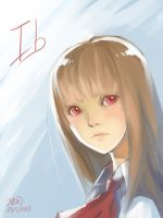 Ib-doodle Ib II by christon-clivef