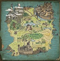 Old simple map by Loosepinch
