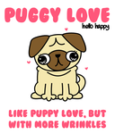 puggy love by hellohappycrafts