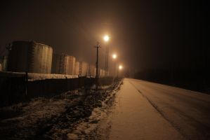 oil tank farm by Fil3D