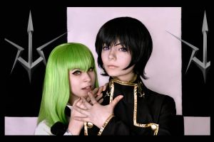 Code Geass: Lelouch and his C.C. by GarnetTilAlexandros