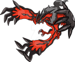 717 - Yveltal - (Neutral Forme) by Tails19950