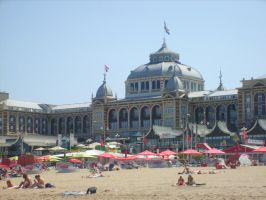 on the beach Scheveningen 4 by ingeline-art