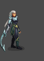 diana pixel animation by Reislet