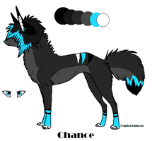 New fursona Crazy by xX-Chase-Xx
